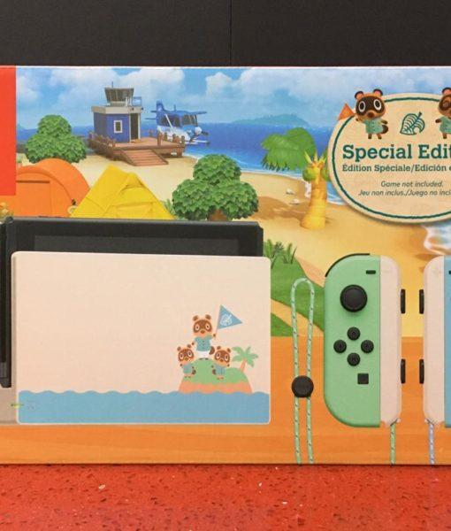 NSW Consola 32 GB JoyCon Animal Crossing Edition