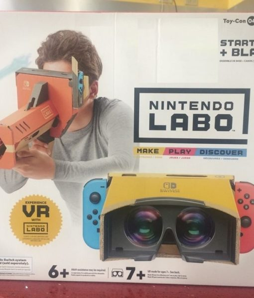 NSW LABO VR Kit Starter Set + Blaster game