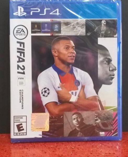 PS4 FIFA 21 Champion Edition game