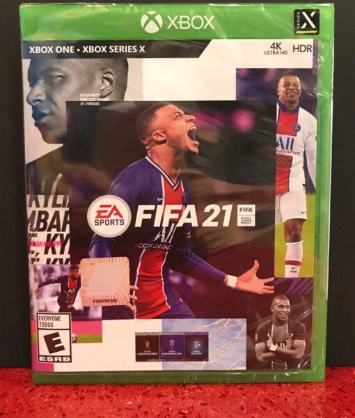 Xone FIFA 21 game