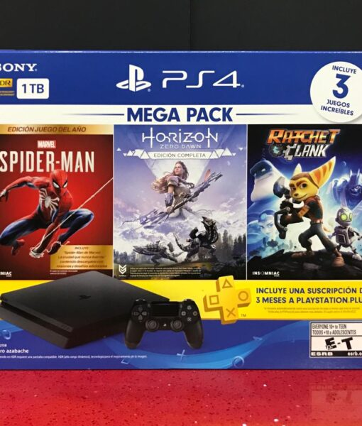 PS4 Consola 1 TERA Slim MEGA PACK 14 Sony