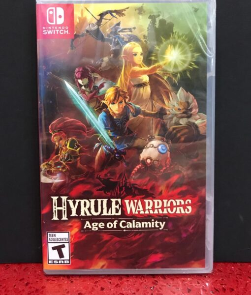 NSW Hyrule Warriors Age Of Calamity game