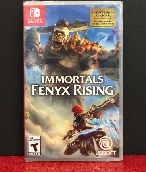 NSW Immortal Fenyx Rising game
