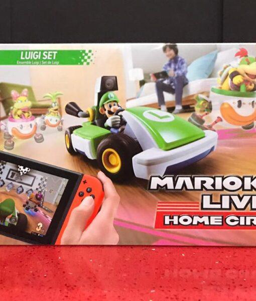 NSW Mario Kart Live Home Circuit Luigi Set game