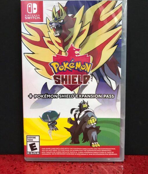 NSW Pokemon Shield + Expansion Pass game