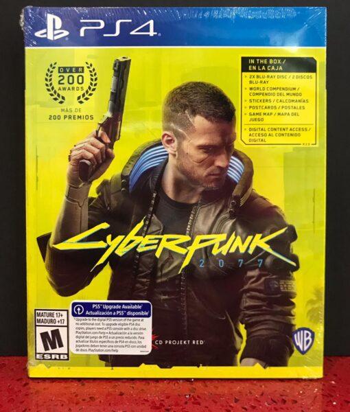 PS4 Cyberpunk 2077 game