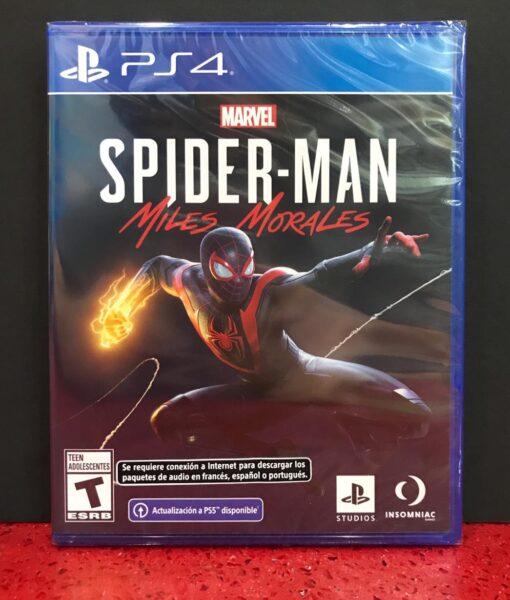 PS4 Marvel Spiderman Miles Morales game