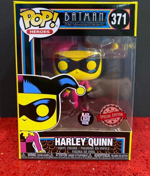 Funko Pop Figure Harley Quinn Black Light 371