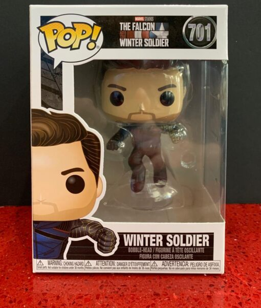 Funko Pop Figure Marvel Winter Soldier 701