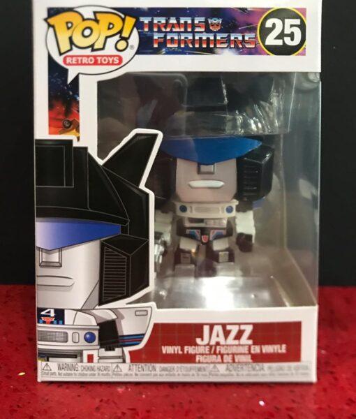 Funko Pop Figure Transformers Jazz 25