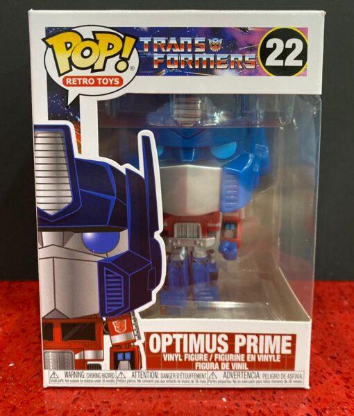 Funko Pop Figure Transformers Optimus Prime 22