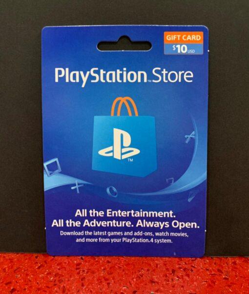 PS4 item Tarjeta PSN 10 dolares Sony