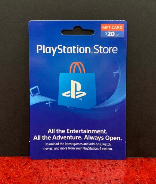 PS4 item Tarjeta PSN 20 dolares Sony