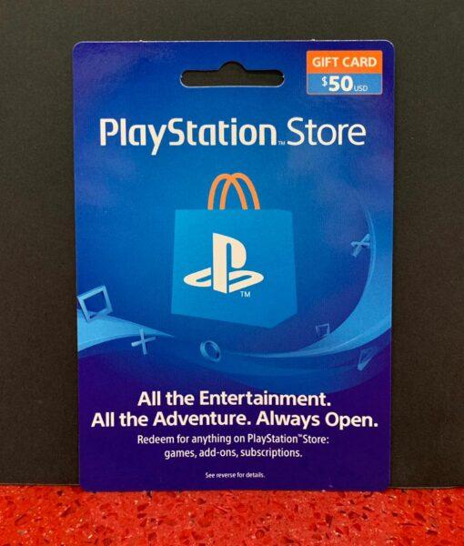 PS4 item Tarjeta PSN 50 dolares Sony