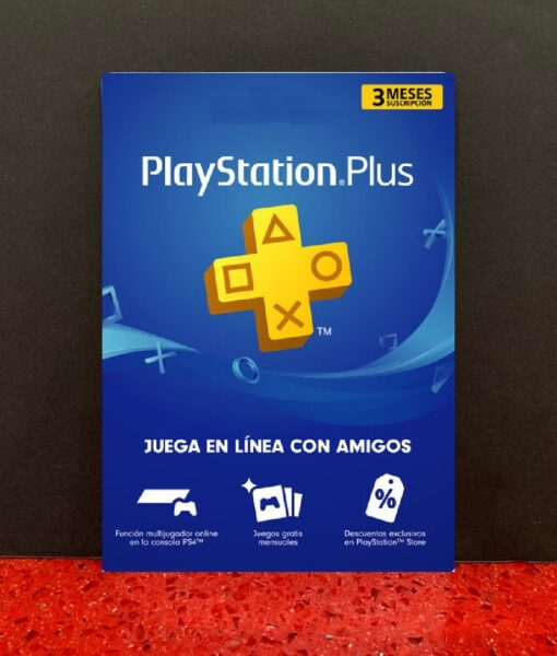PS4 item Tarjeta PSN Plus 3 meses Membresia SONY