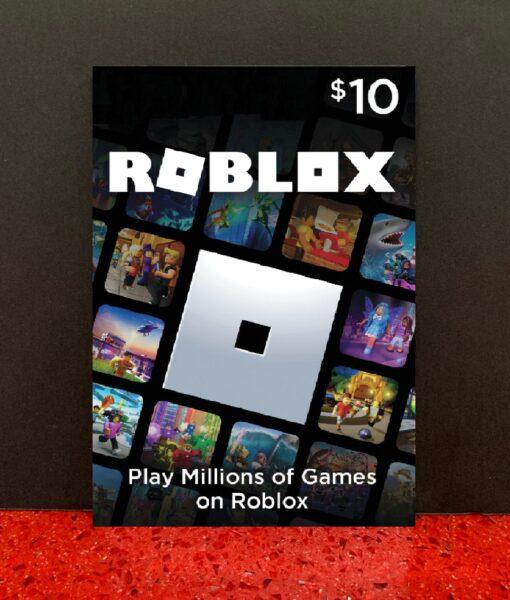 PC item ROBLOX 10 dolar card