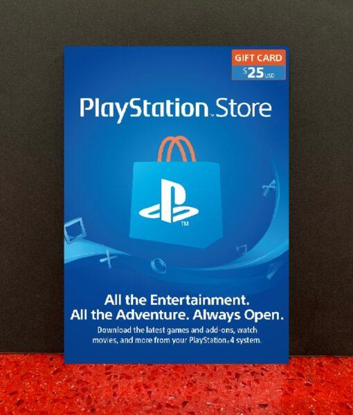 PS4 item Tarjeta PSN 25 dolares Sony