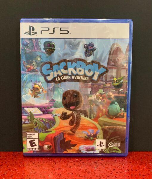 PS5 Sackboy A Big Adventure game