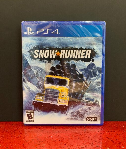 PS4 Snow Runner game