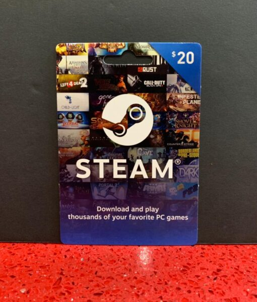 PC item Tarjeta STEAM 20 dolares