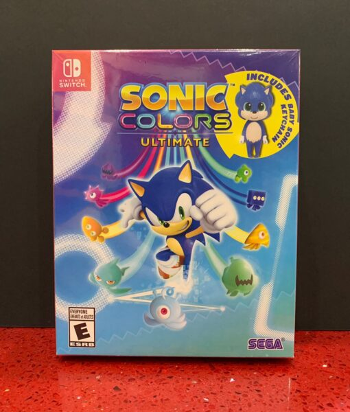 NSW Sonic Colors Ultimate game