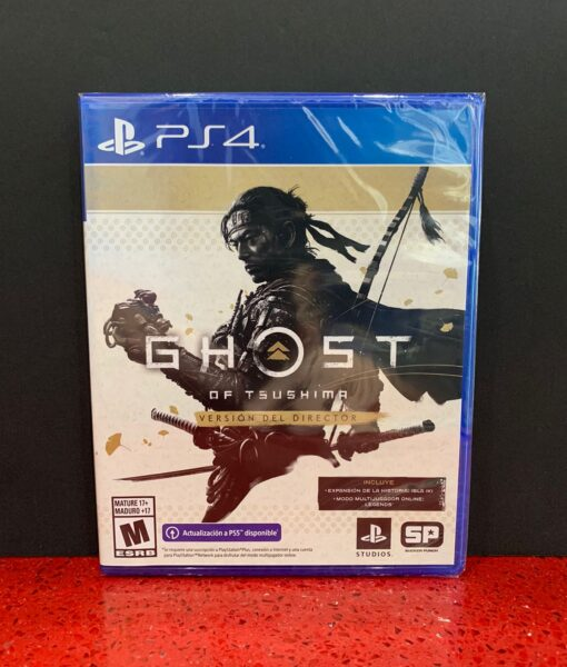 PS4 Ghost of Tsushima Directors Cut game