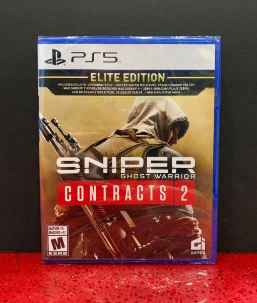 PS5 Sniper Ghost Warrior Contracts 2 game