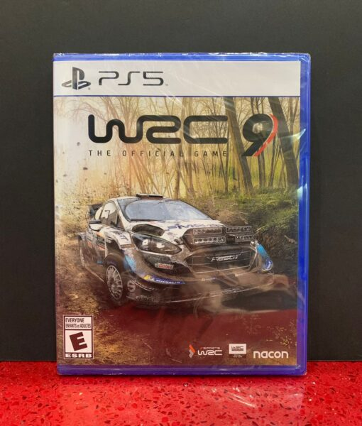 PS5 WRC 9 Rally game