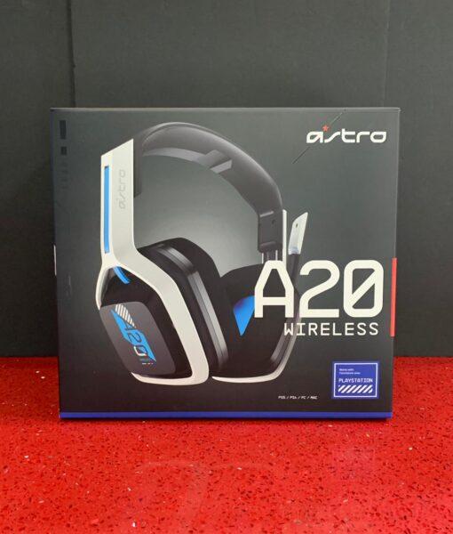 PS5 item Headset Wireless A20 Blanco Astro