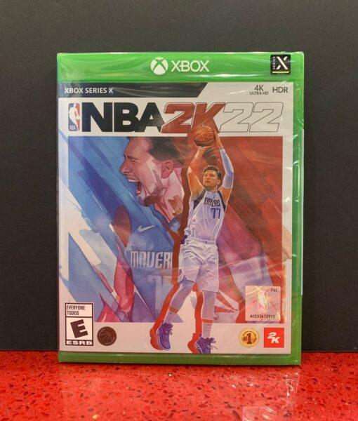 XBX NBA 2K22 game
