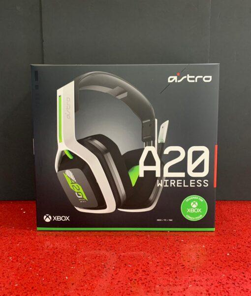 XBX item Headset Wireless A20 Blanco Astro
