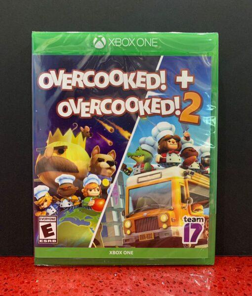 Xone OverCooked 1 + 2 game