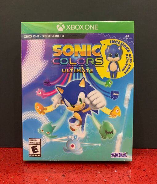 Xone Sonic Colors Ultimate game