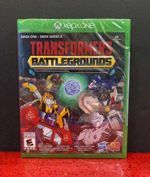 Xone Transformers Battlegrounds game