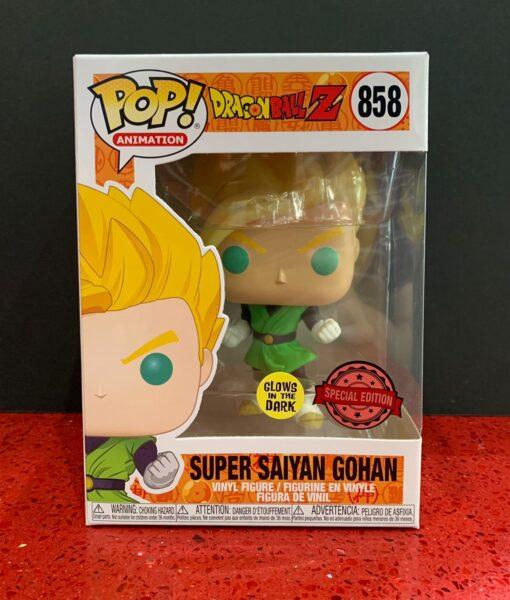 Funko Pop Figura DBZ Super Saiyan Gohan 858