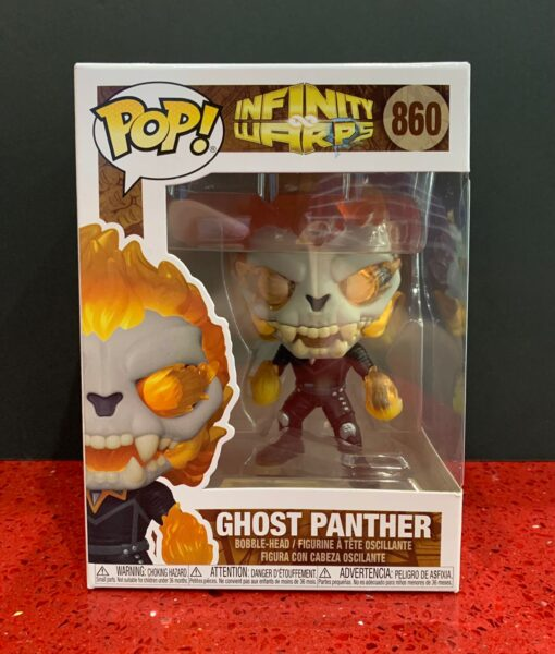 Funko Pop Figura Infinity Ghost Panther 860