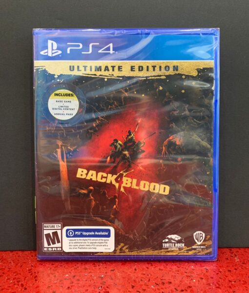 PS4 Back 4 Blood Ultimate game