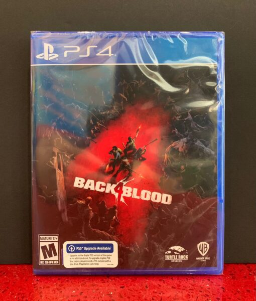 PS4 Back 4 Blood game