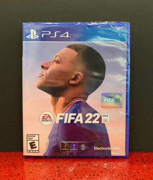 PS4 FIFA 22 game