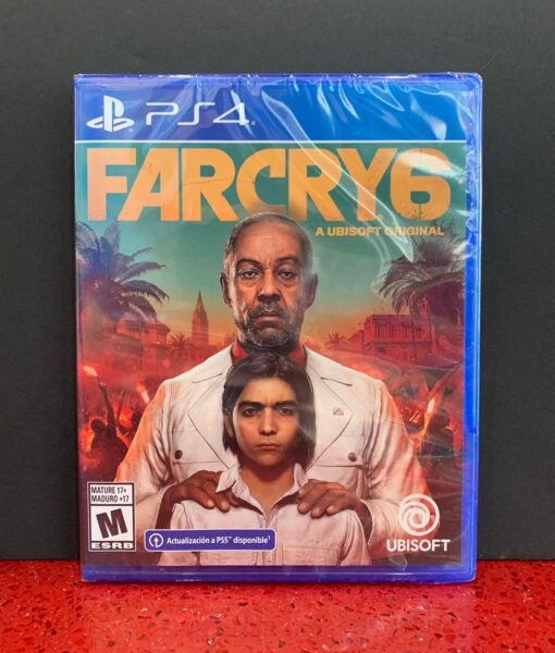 PS4 FarCry 6 game