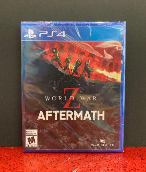 PS4 World War Z Aftermath game