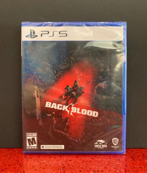 PS5 Back 4 Blood game