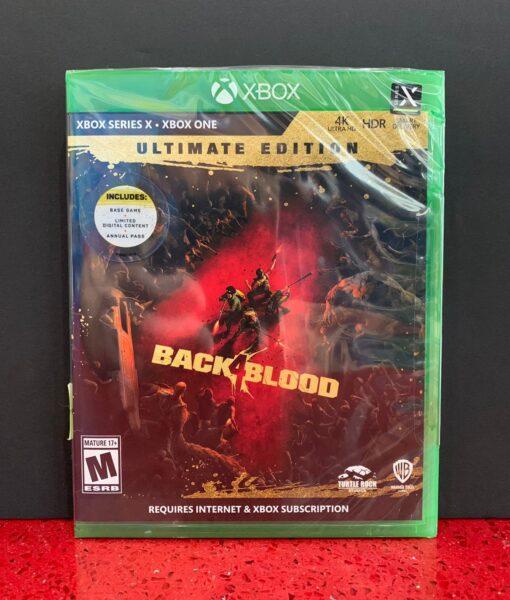 Xone Back 4 Blood Ultimate game